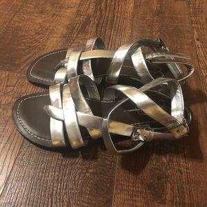 Jessica Simpson Ankle wrap sandals